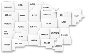 Med1Care Ohio Counties Served
