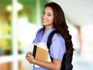 A CNA certified nursing assistant.